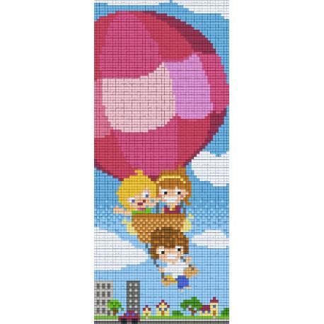Kids in a Ballon