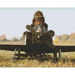 Kid in Aeroplane