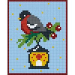 Bird  on Lantern