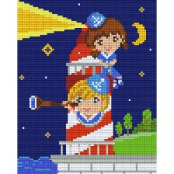 Kids in a Lighthouse