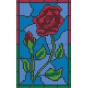 Stainglass Rose