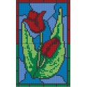 Stainglass Tulip