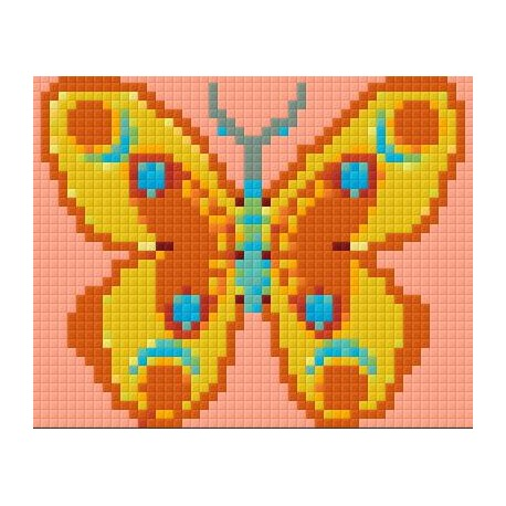 Orange Yellow Butterfly