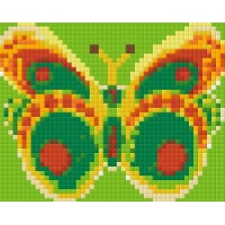 Green Yellow Butterfly