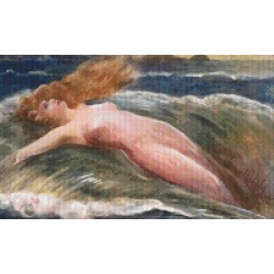 Woman in the Waves
